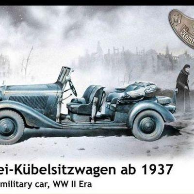 Polizei Kübelsitzwagen ab 1937