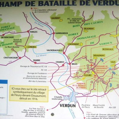 {Fleury-Devant-Douaumont, village détruit en 1916}