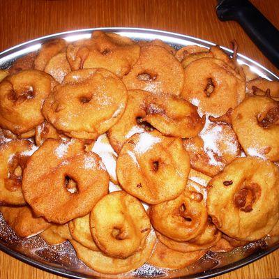 Les beignets de pommes de chez nous