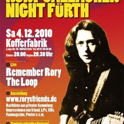 Rory Gallagher Night Fürth