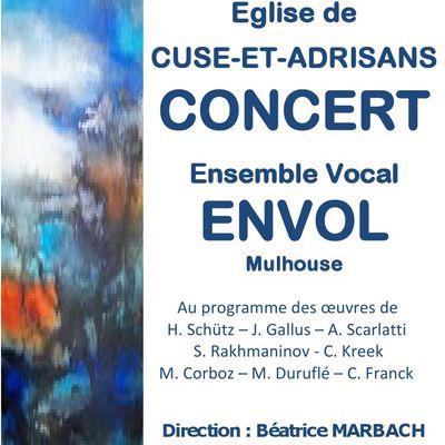 Concert ce dimanche dans le Doubs