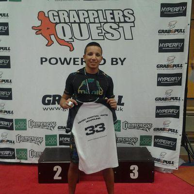 Karim vice champion au Grappler Quest