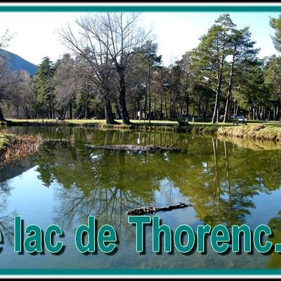 Le lac de thorenc...