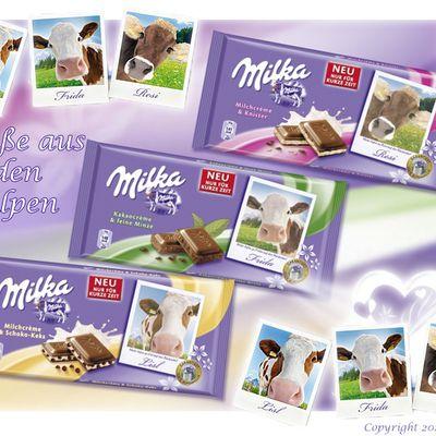 Neue Schokolade von Milka