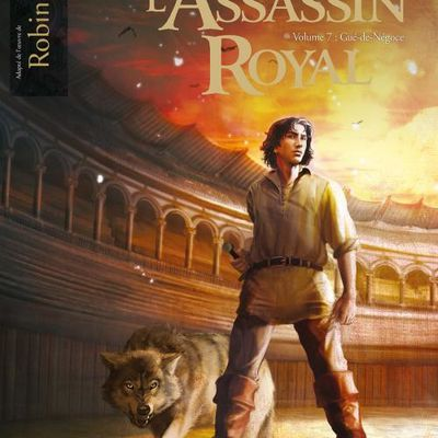 "Couverture de l'""Assassin royal VII:Gué-de-négoce"""