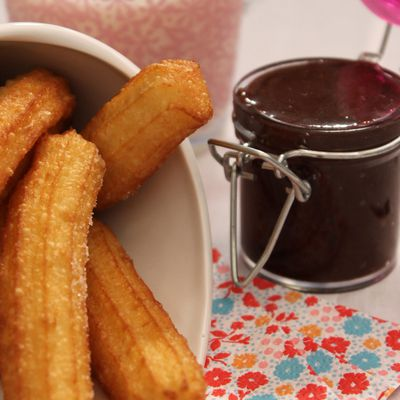 Churros et sa pâte à tartiner - Christophe Michalak