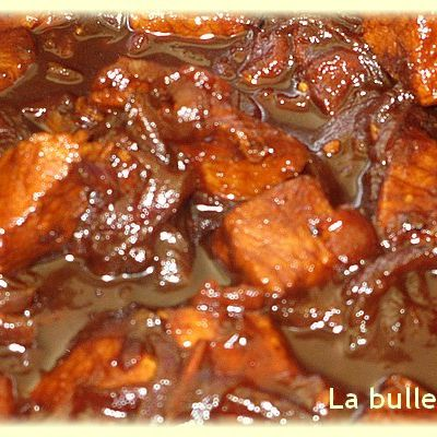 Filet mignon de porc au miel (Weight-Watchers)