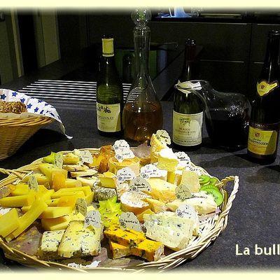 Soirée dégustation vins et fromages