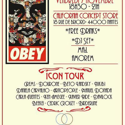 Obey Icon Tour NANTES