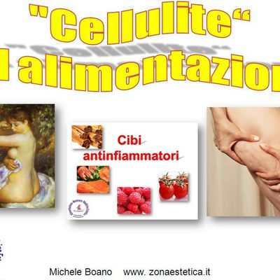 """Cellulite"" e Alimentazione. (Video)"