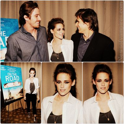 Kristen Stewart: On The Road - Projection privée à New York
