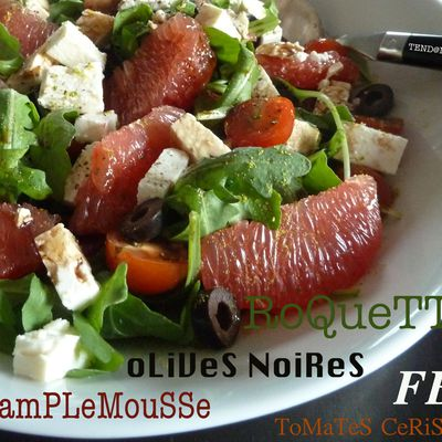 SaLaDe RoQueTTe PamPLeMouSSe...