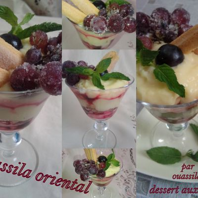Dessert aux fruits