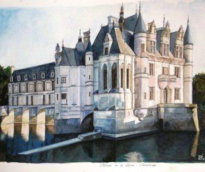 la Loire - château de Chenonceau