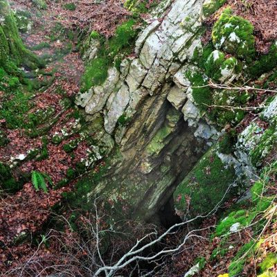 Désertvillers, quatre gouffres, 2/2, Baume des crêtes, Creux de la vieille folle