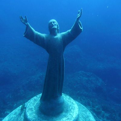 """Freediving Cristo"""