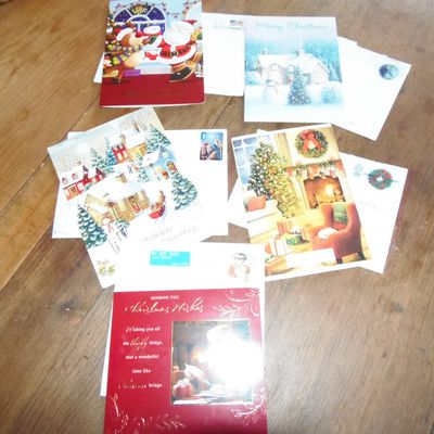 Cartes de Noël from all over the world !!!!