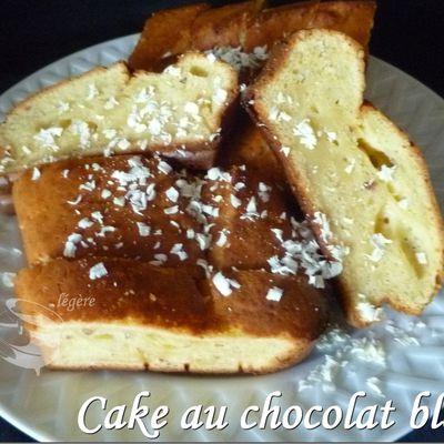 Cake au chocolat blanc
