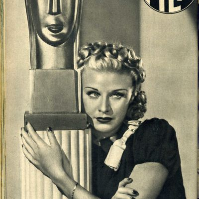 GINGER ROGERS / ACTRICE ET DANSEUSE AMERICAINE / CINEMA