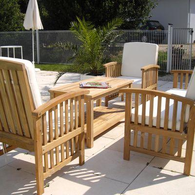 """Salon bas de jardin : Aménagez un espace """"lounge"""" dans votre jardin"""