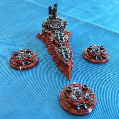 [Dystopian Wars] Croiseur de combat Riourik, l'écorcheur de la Mer Noire