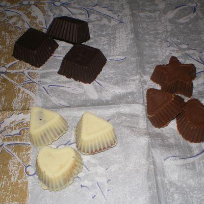 assortiment de chocolats....