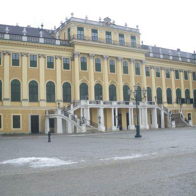 Le château de Schönbrunn - Vienne Février 2012