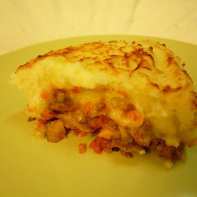 Hachis Parmentier fromager