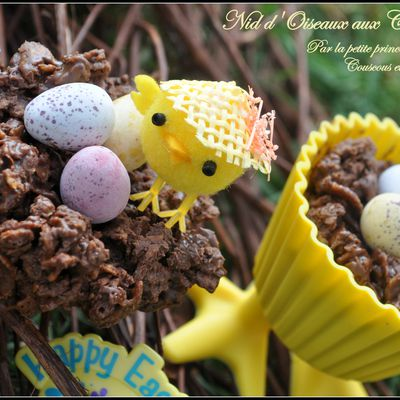 Easter Egg Nests recipe