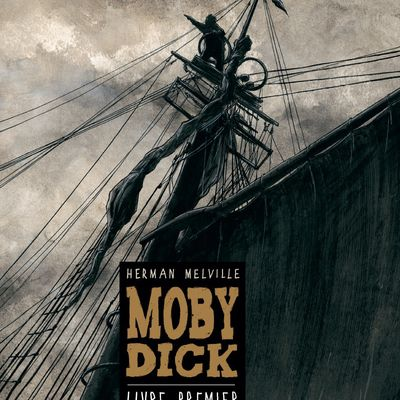 Chabouté, adaptation BD : Moby Dick d'Herman Melville