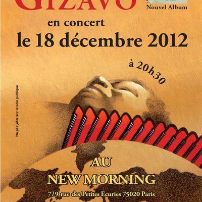 18/12 au New Morning - Sortie du nouvel album de Régis Gizavo
