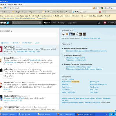 TUTORIALIS dispo sur Twiter