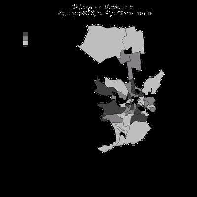 Elections régionales: les cartes du vote aixois