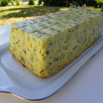 FLAN DE COURGETTES (thermomix)