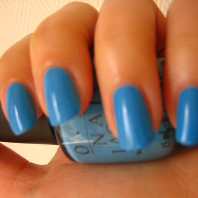 "OPI "" No room for the Blues"" !!!!"