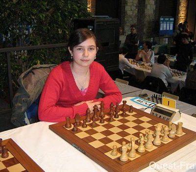 Interview d'Andreea Navrotescu, championne de France Benjamines 2010