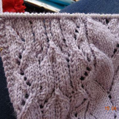 KAL tricot dentelle