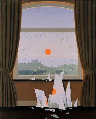 "Magritte, ""Le Soir qui tombe"""