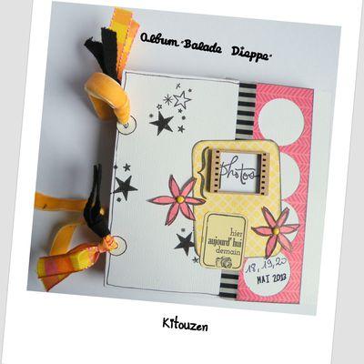 """Mini-album """"Balade à Dieppe"""""""