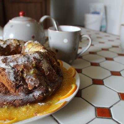 Gâteau de Savoie à l'orange