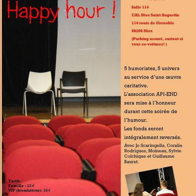 Happy Hour ! mardi 17 décembre 2013 à 20:30