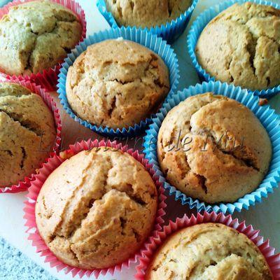 Muffins café-noisettes (Thermomix)