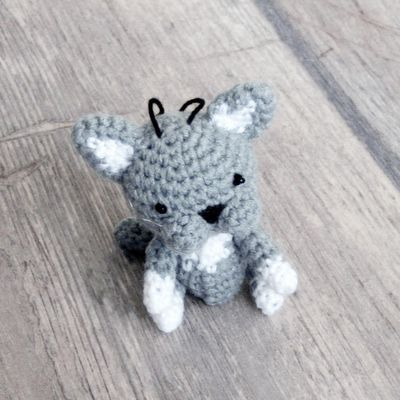 Un petit chat au crochet