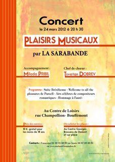 PLAISIRS MUSICAUX