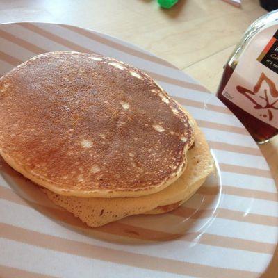 Les pancakes de l'aube