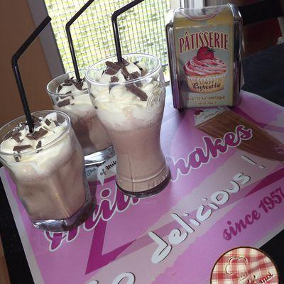 Milkshake vanille & Nesquik