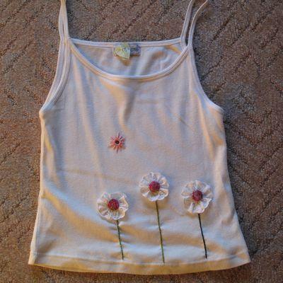 Tee-shirt Trois fleurs