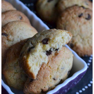 Cookies aux pépites Chocolat de Christophe Felder