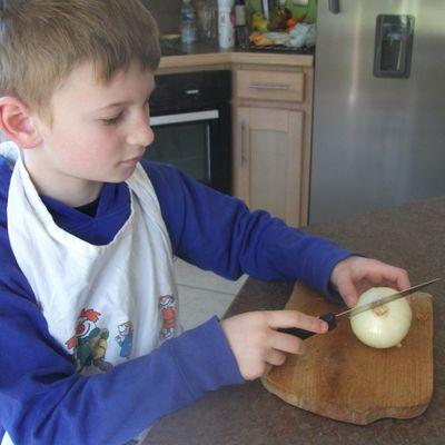 livre de recettes : les lasagnes de Simon