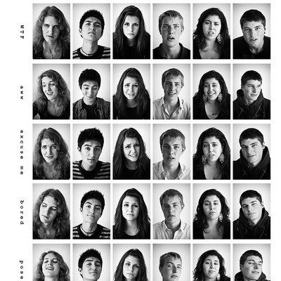 Quelques images d'expression faciale